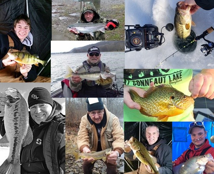 Nw pa fishing report for january 2017 for Pa fish records