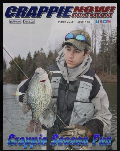 Crappie now free digital magazine march 2018 for Free fishing magazines