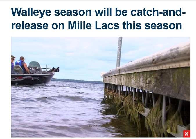 FOX 9: Mille Lacs Is Catch and Release Only
