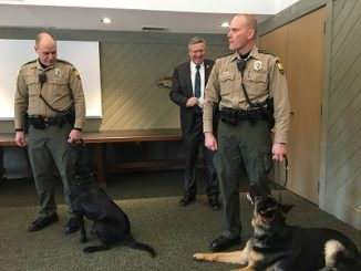 Whitetails Unlimited Supports Ohio DNR Wildlife K-9 Program