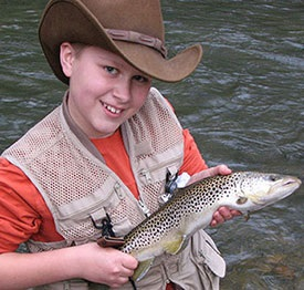 Fishing Trout With Mepps