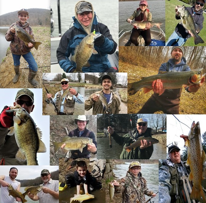 Nw pa fishing report for late april 2018 for Nw fishing report