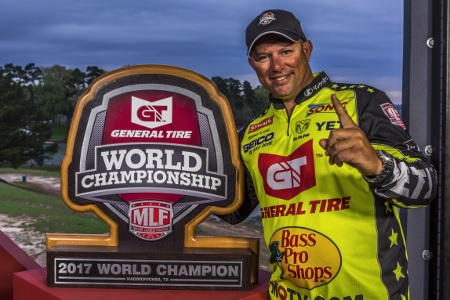 Major League Fishing Announces 12 Anglers to Compete in General Tire World Championship