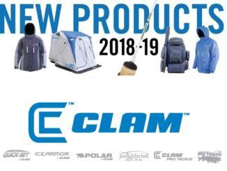 Clam Outdoors Launches New 2018-19 Ice Fishing Products 1