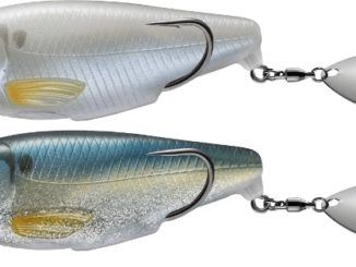 New topwater fishes big, throws water, and makes plenty of racket