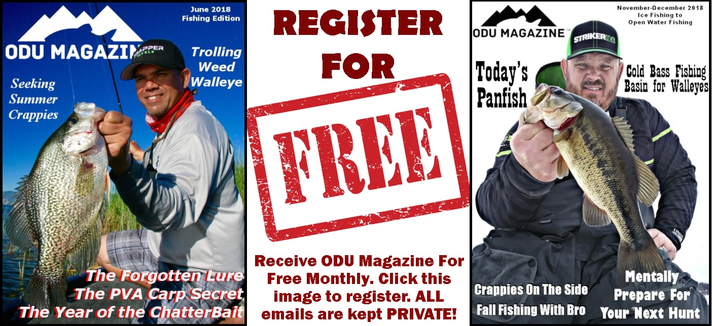 REGISTER FOR ODU MAGAZINE