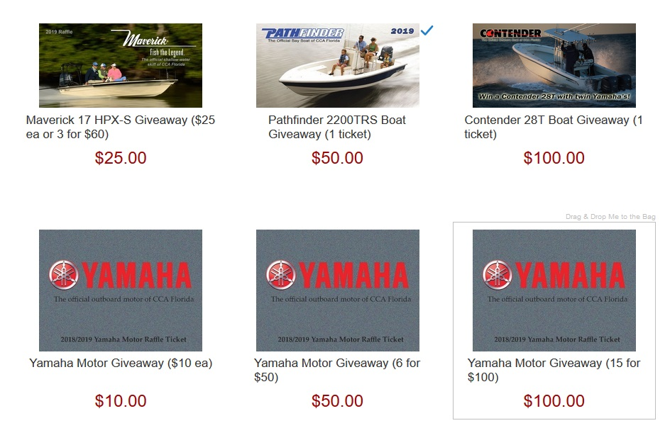 CCA Boat Raffles
