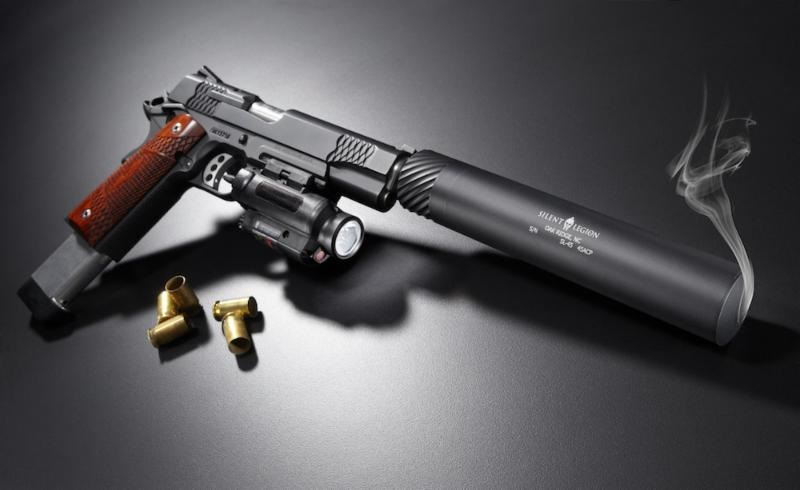 Shooting Suppressed with a 45 ACP
