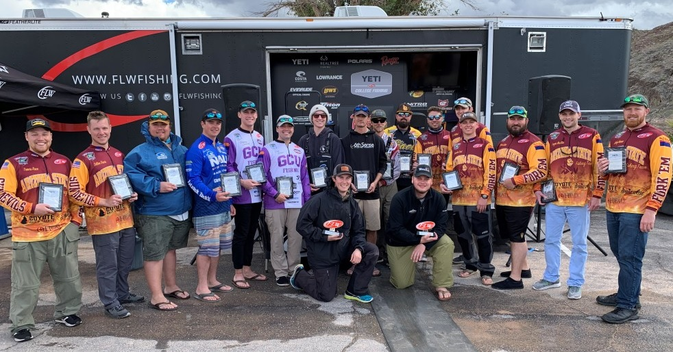 CAL POLY WINS YETI FLW COLLEGE FISHING WESTERN CONFERENCE
