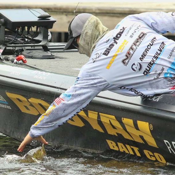 Blaylock Holds On To Win Bassmaster Elite Series