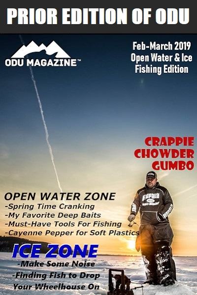 ODU Fishing Edition - February-March 2019