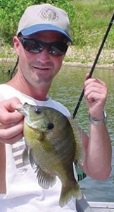 Fishing Panfish In Spring With Mepps