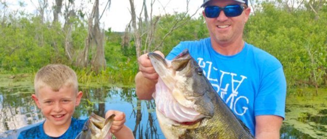 Orange Lake & TrophyCatch Celebrates 2nd Heaviest Bass