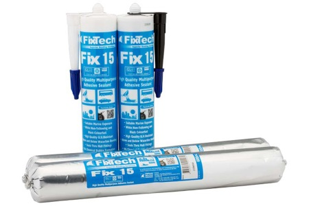 FixTech Fix15 Bonds Underwater and is Paintable
