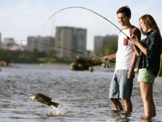 Urban Fishing: Bright lights, big fish.